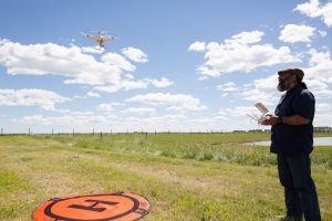 Drone at Olds College
