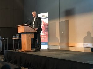 Bill Greuel speaking at Plant Protein Ingredients Summit | Plant Protein Alliance of Alberta