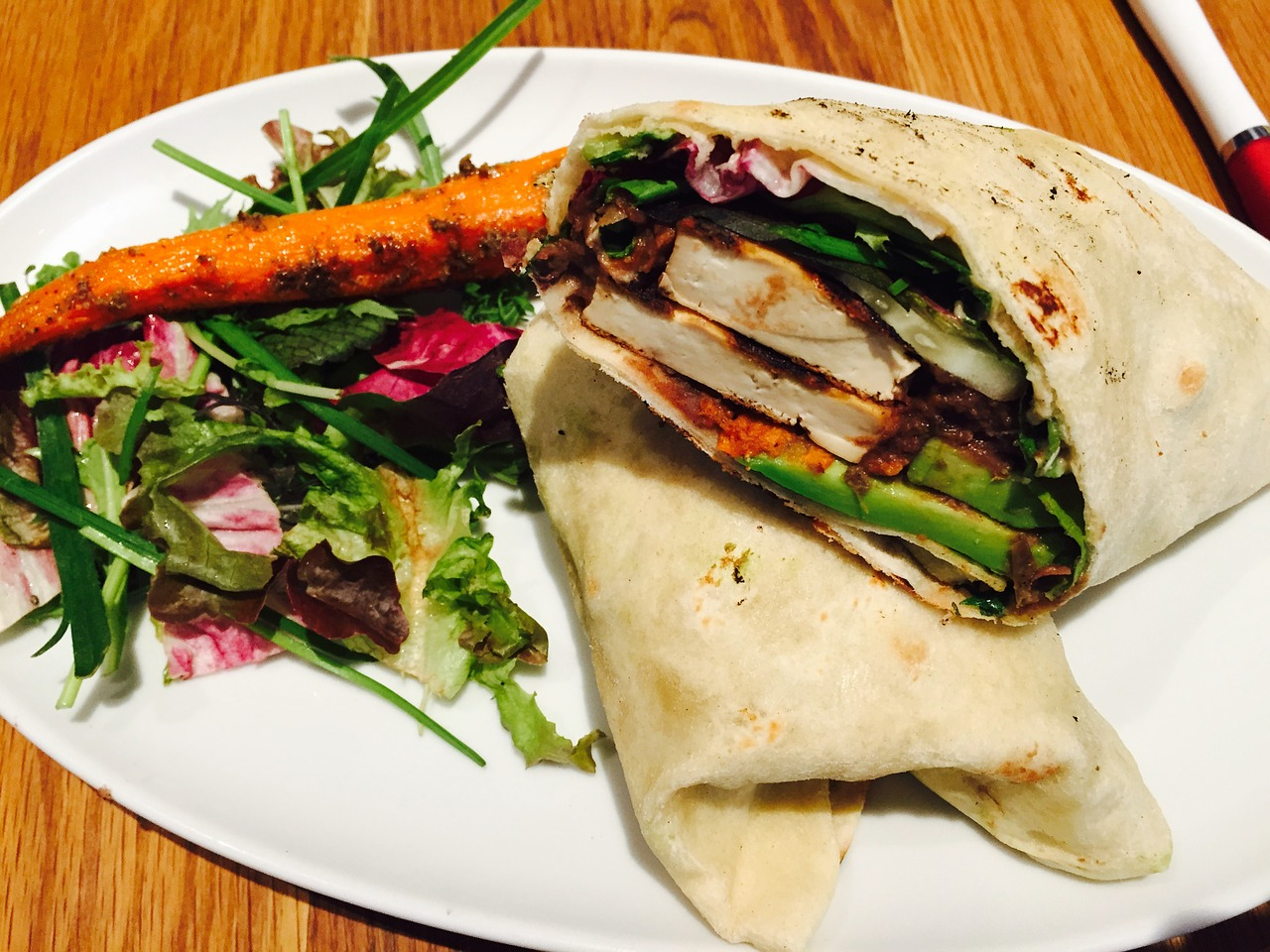 Vegan Wrap | Plant Protein Alliance of Alberta (PPAA)