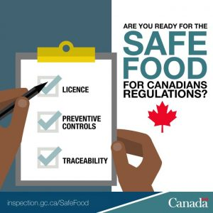 The new Safe Food for Canadians Regulations (SFCR)The new Safe Food for Canadians Regulations (SFCR)