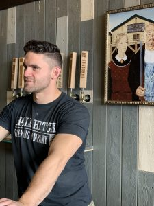 Co-founder and CEO Kyle Heier of Cochrane's Half Hitch Brewing